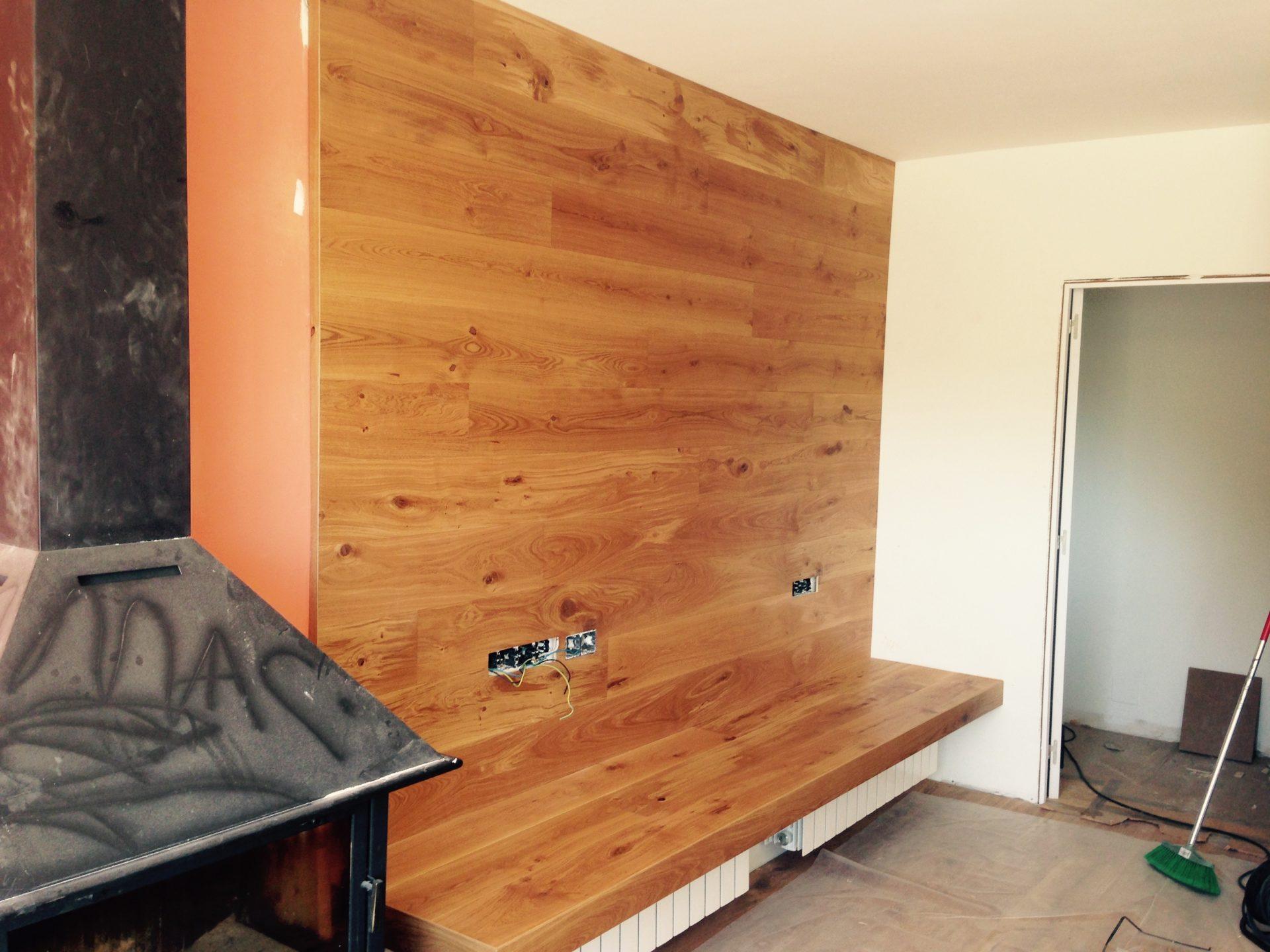 Forrado de paredes parquets solutions - Laminados para paredes ...